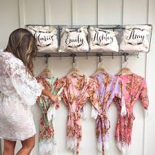 bridesmaid gift ideas bathrobes for