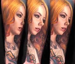 Megan Massacre tattoo by Nikko Hurtado | No. 827