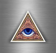 Sticker Decal Art Wall Car Moto Biker Illuminati Pyramid Eye Of Providence See Z Archives Midweek Com