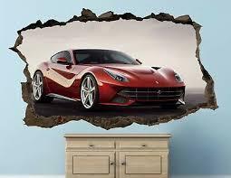 Ferrari And Others Vinyl Sticker Decal Interior Wall Sticker Decor Sa08