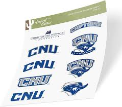 Amazon Com Christopher Newport University Cnu Captains Ncaa Sticker Vinyl Decal Laptop Water Bottle Car Scrapbook Type 2 Sheet Arts Crafts Sewing