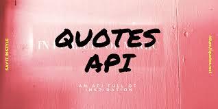 quotes rest api