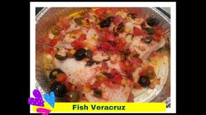 Fish Veracruz Recipe - YouTube