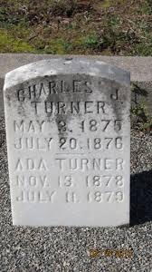 Ada Turner (1878-1879) - Find A Grave Memorial