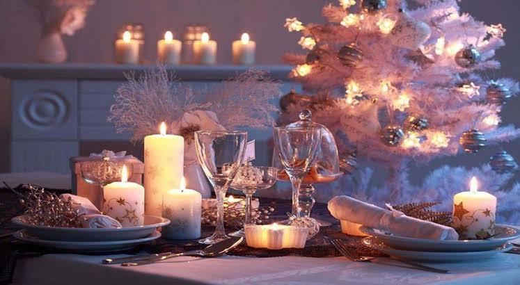 iluminación navidad hogar