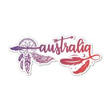Australia Laptop Car Sticker Decal Countries Stickers Little Sticker Boy