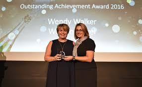 Wendy Walker of Wotton Travel Ltd wins Outstanding Achievement Award