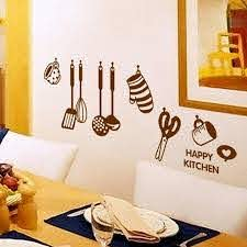 Happy Kitchen Wall Stickers Instyle Walls Llc