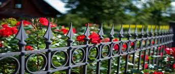 Decorative Iron Fences Victoriana Magazine