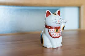 Maneki Neko Japanese Lucky Cat Beckoning Cat Yakushigama Ceramics Seto City Seto Yaki Japanese Ceramics Cat Statue Cat Love Maneki Neko Neko Happy Cat