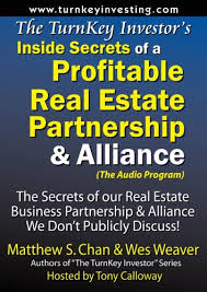 Title: The TurnKey Investors Inside Secrets of a Profitab: Amazon.co.uk:  Matthew S. Chan, Wes Weaver, Tony Calloway: 9781933723143: Books