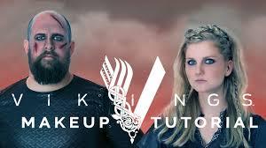 vikings makeup tutorial