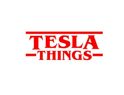 Collectibles Transportation Transportation Tesla Things Sticker Stranger Things Tv Show Vinyl Decal Car Electric Car Decals Stickers Zsco Iq