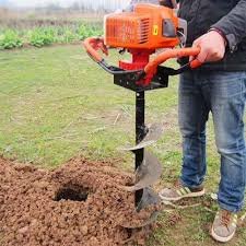 1200w Post Hole Digger Earth Auger Petrol Drill Bits Fence Borer Professional 200mm Drill And 60cm Extend Pole Pruning Tools Aliexpress
