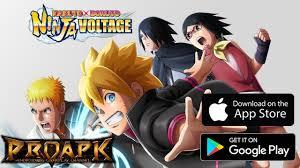 NARUTO X BORUTO NINJA VOLTAGE English Gameplay Android / iOS - YouTube