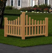 New England Arbors 3 Ft H X 4 Ft W Country Fence Panel Wayfair