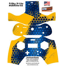 Honeycomb Frsky X Lite Transmitter Skin Wrap Controller Radio Decal Powerhobby Com