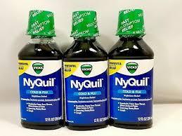 3 x vicks nyquil nighttime cold flu