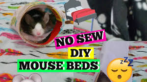 diy no sew mouse hammock tent bed
