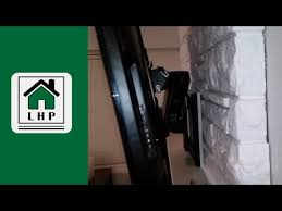 installing a tv wall mount on a stone