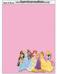 Disney Princess Party Free Printable Party Invitations Disney