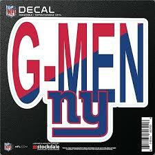Football Nfl Michael Strahan G Men Ny Giants Gmen Decal Window Stickers Sports Mem Cards Fan Shop Cub Co Jp