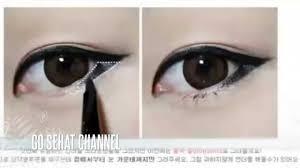 cara makeup mata sipit ala korea you