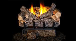gas log set is a low btu fire