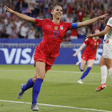Alex Morgan turns 31 today. Let's remember her birthday goal at WWC.