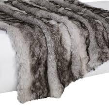dasher faux fur throw kmart
