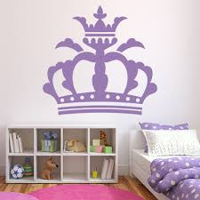 Queen Crown Princess Wall Decal Sticker Ws 15227 Ebay