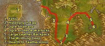 alliance feralas guide part 1 level 46