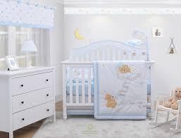 bear baby boy nursery crib bedding sets