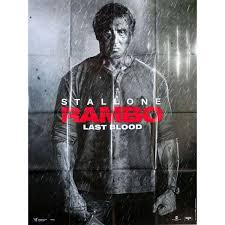 RAMBO - LAST BLOOD Movie Poster 47x63 in.