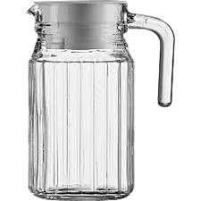 arcoroc quadro glass jug 500ml
