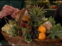 fruit basket on martha stewart show