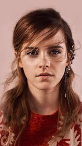 emma watson face red film actress