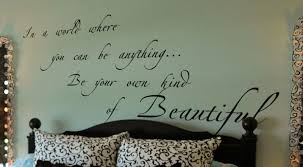 Own Kind Of Beautiful Wall Decals Trading Phrases