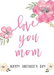 Happy Mothers Day Messages Free Printable Mothers Day Cards ...