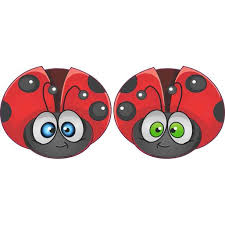 Ladybug Vinyl Stickers 3 Inches By 2 5 Inches Walmart Com Walmart Com