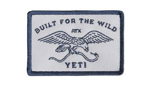 Yeti Stickers Patches