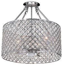 edvivi lighting marya 4 light chrome