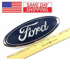 Blue Ford 2004 2014 F150 Front Grille Tailgate Emblem Oval Decal Badge Nameplate Walmart Com Walmart Com
