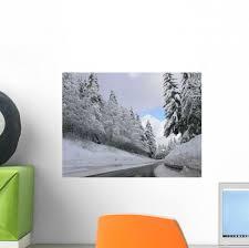 Winter Southern Black Forest Wall Decal Wallmonkeys Com