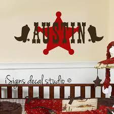 Pin By Capri Day On Austin S Room At Nanas Toddler Boy Room Decor Cowboy Room Boys Decal