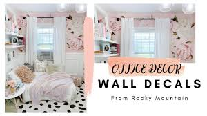 Mom Cave Wall Transformation Wall Decals Rocky Mountain Decals Youtube