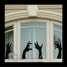 Halloween Zombie Wall Decals We Like To Call The Wallking Dead