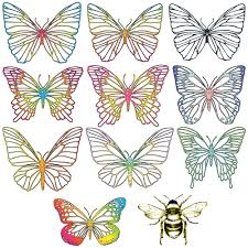 Rainbow Butterfly Window Decals Butterfly Window Stickers Shop Now Rainbow Decal Rainbow Butterfly Decal Sheets