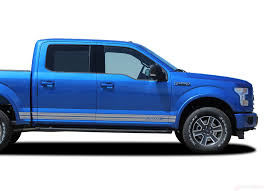 2015 2020 Ford F 150 Stripes Rocker 2 Two Lower Rocker Vinyl Decal 3m Auto Motor Stripes Decals Vinyl Graphics And 3m Striping Kits