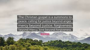 """wendell berry quote """"the christian gospel is a summons to peace"""